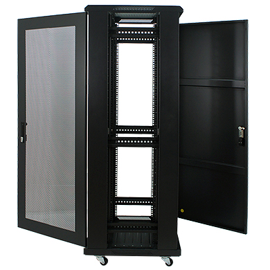 32u 19 inch server rack enclosure 19 inch perforated door