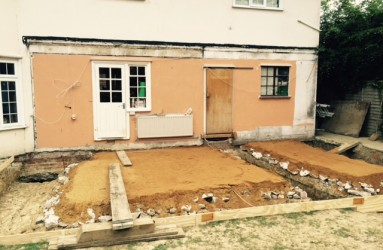 House Foundations in progress
