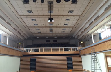 School and theatre projector and AV installation top