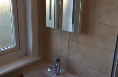 Shower and wet Rooms Sink Mirror