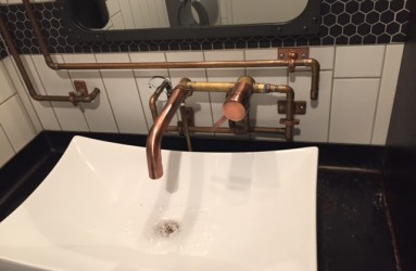 Themed toilets and sink